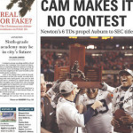 Auburn defeats South Carolina for 2010 SEC Championship: newspapers' front pages