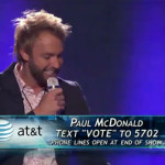 Paul McDonald on 'American Idol': Top 12