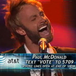 Paul McDonald on 'American Idol': Top Nine