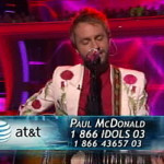 Paul McDonald on 'American Idol': Top 11 again