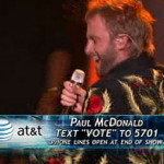 Paul McDonald on 'American Idol': Top Eight