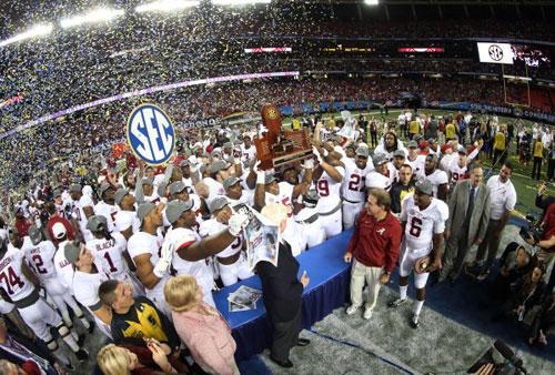 Alabama SEC Championship 2014