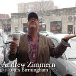 Andrew Zimmern tours Birmingham
