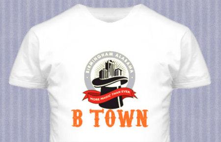 B Town Birmingham More Magic Than Ever T-shirt
