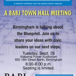 Blueprint Birmingham: Town hall discussion tonight