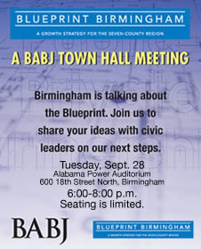 BABJ town hall flyer