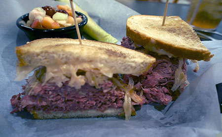 Max's Delicatessen - Reuben sandwich