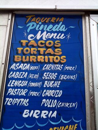 Taqueria Pineda