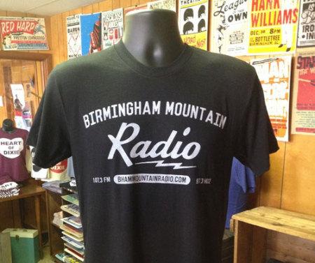 Birmingham Mountain Radio T-shirt