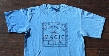Birmingham the Magic City T-shirt