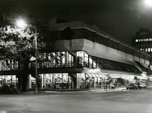 Canterbury Public Library, Gloucester Street, Christchurch, 1982