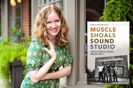 Carla Jean Whitley, Muscle Shoals Sound Studio