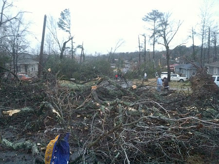 Center Point, Jan. 23 tornado