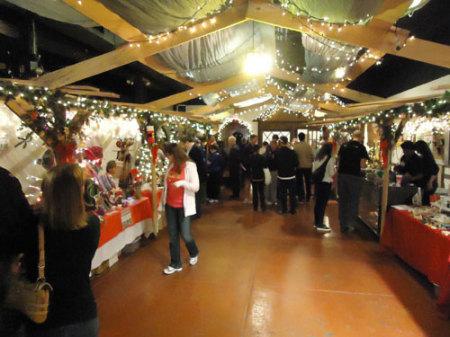 Das Haus, Weihnachtsmarkt