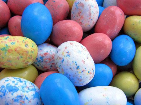 Easter eggs, by Terren