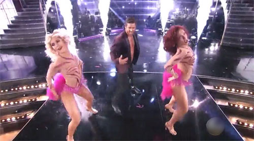 Emma slater, Noah Galloway, Sharna Burgess