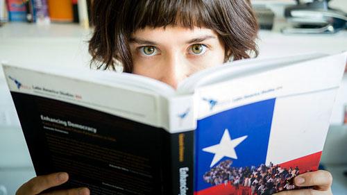 eyes on book