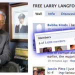 Can Facebook save Larry Langford?