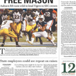 Auburn wins 2013 SEC Championship: newspaper front pages