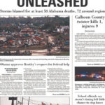 April 27 tornadoes: Alabama newspaper front pages