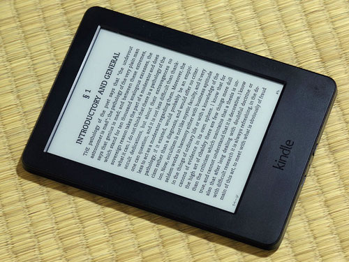 Kindle tablet book introduction