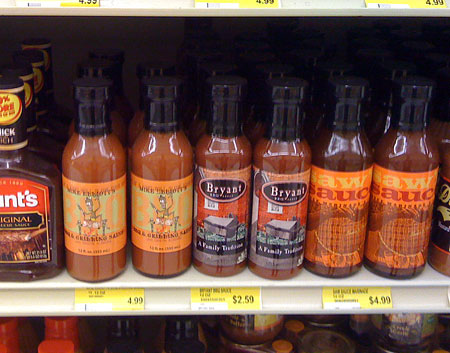 Mike Elliott's BBQ Sauce, Piggly Wiggly, Clairmont