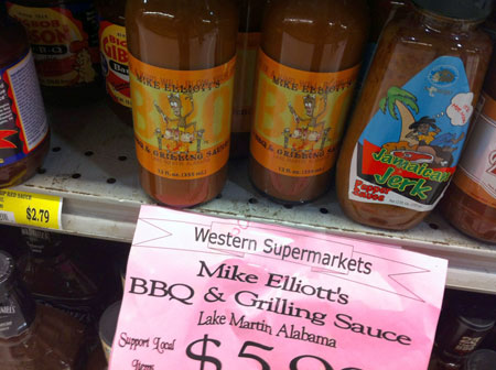 Mike Elliott's BBQ Sauce, Western Supermarket, Mountain Brook