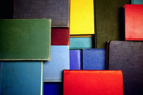 mosaic of books