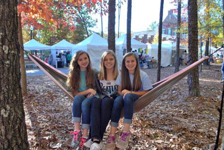 Moss Rock Festival hammock