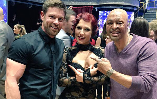 Noah Galloway, Sharna Burgess, JR Martinez, Dancing with the Stars week 3