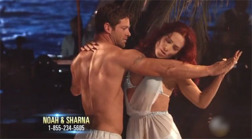 Noah Galloway, Sharna Burgess