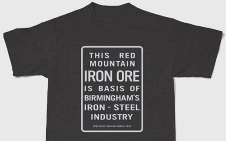 Red Mountain iron ore T-shirt