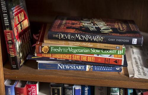 Robert's bookshelf