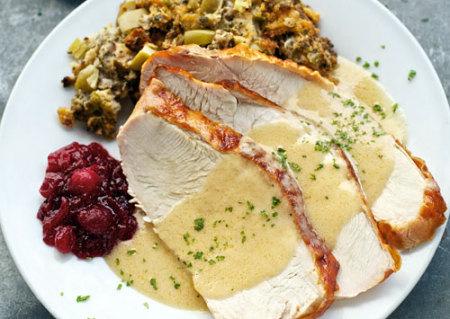 Ruth's Chris Steak House turkey Dinner
