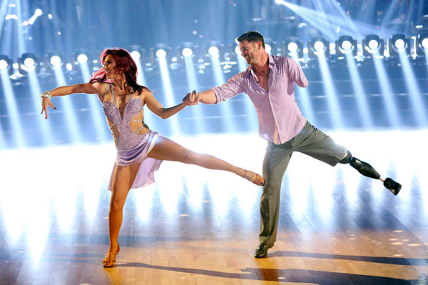 Sharna Burgess, Noah Galloway, Dancing with the Stars