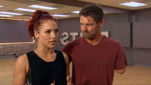 Sharna Burgess, Noah Galloway, Nightline
