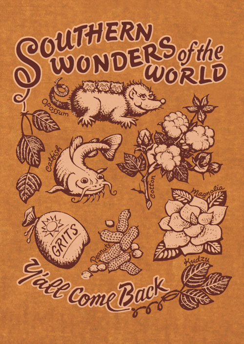 Southern Wonders of the World T-shirt