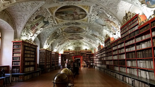 Strahov monastery library, reading hall