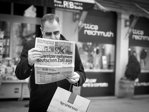 Switzerland newspaper