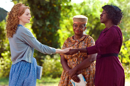 The Help, Emma Stone, Octavia Spencer, Viola Davis