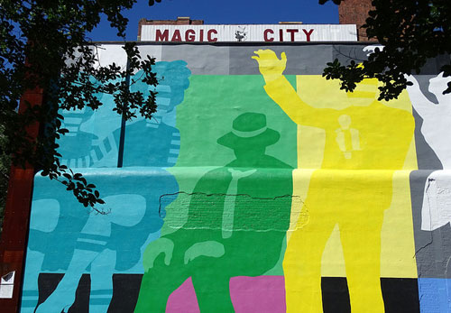 Theatre District mural