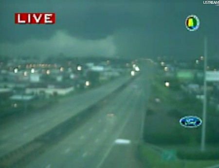 Tornado, Red Mountain Expressway, Birmingham