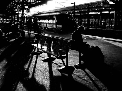 train station reader