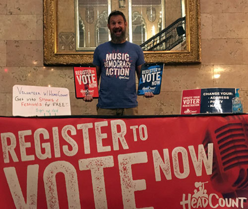 Voter registration - Alabama Theatre