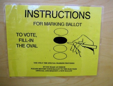 voting instructions