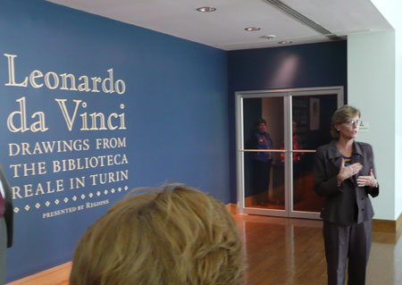 Leonardo da Vinci at the Birmingham Museum of Art