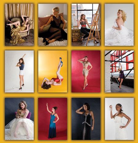 Picture of Health 2010 calendar - Birmingham Bombshells